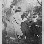 April 27 1924, Rona, Adriana, Bee, Dorothy
